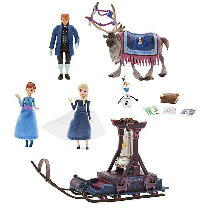 Disney Store – Die Eiskönigin – Olaf taut auf – Minischlitten-Spielset
