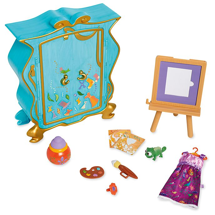 Disney Store Disney Animators' Collection Rapunzel Artists' Playset