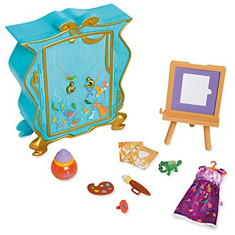Disney Store Coffret Raiponce artiste, collection Disney Animators