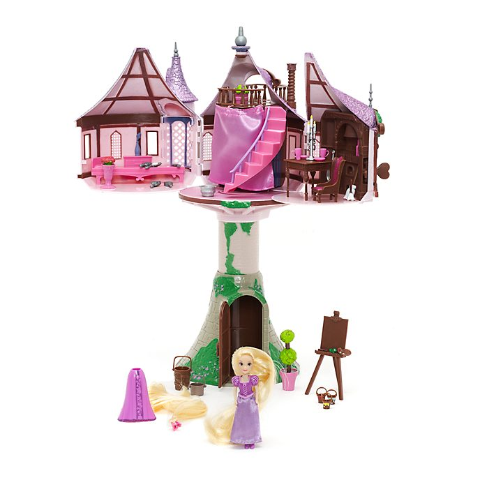 Disney Store Rapunzel Tower Play Set