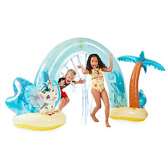 Arco inflable cascada Vaiana, Disney Store