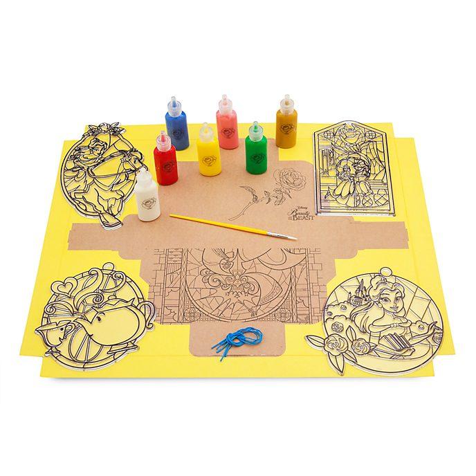 Disney Store Belle SPARK Suncatcher Paint Set