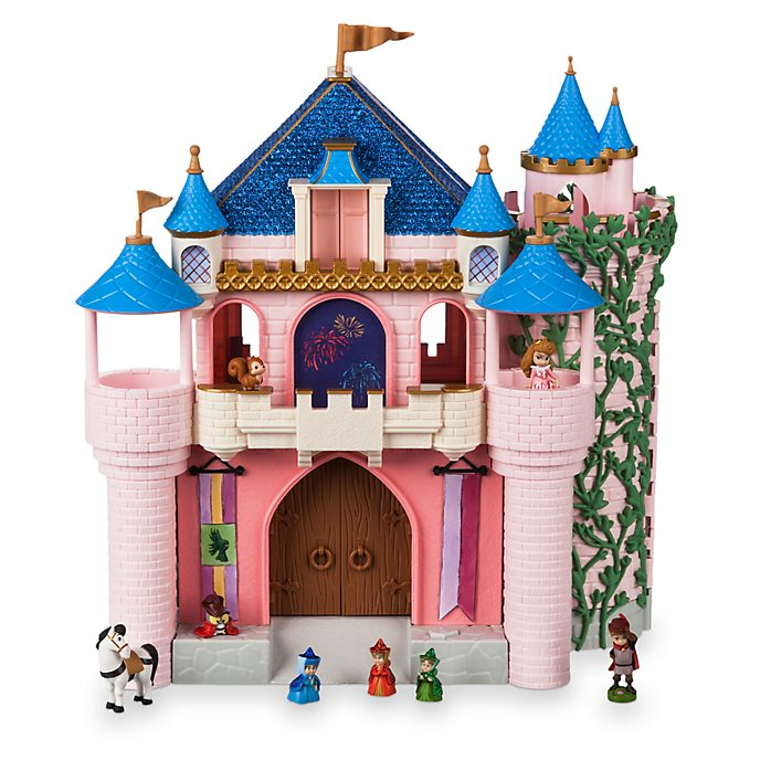 Disney Store Coffret deluxe Château de La Belle au Bois dormant, Disney Animators Littles
