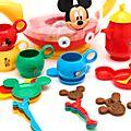 Set juego tetera Mickey Mouse, Disney Store