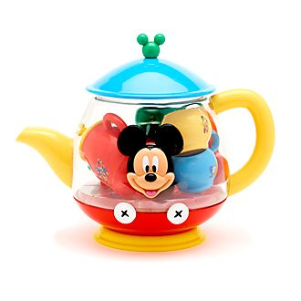 Disney Store Mickey Mouse Teapot Playset
