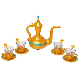 Disney Store Aladdin Teatime Playset