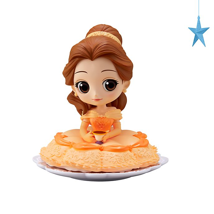 Banpresto figurita Q Posket pastel Bella con taza de té