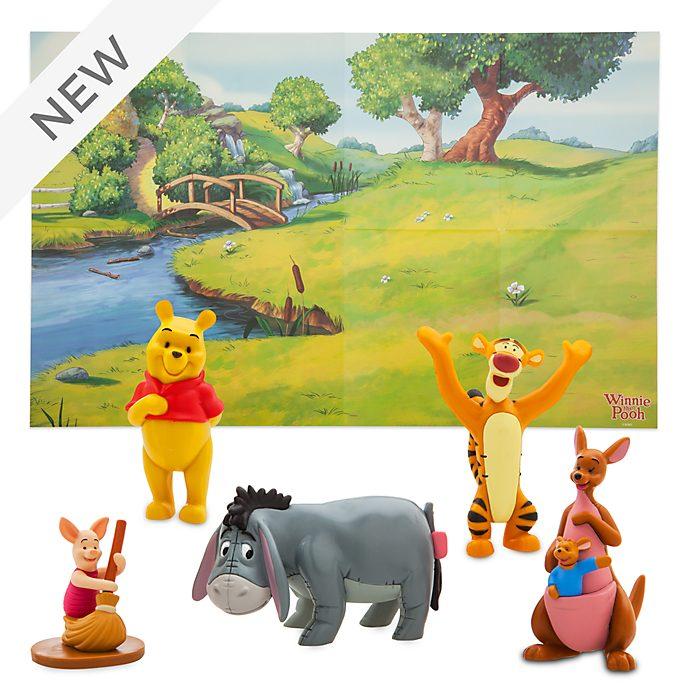 Disney Store Winnie the Pooh Figurine Playset