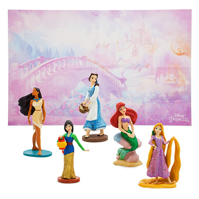 Disney Store Coffret de figurines Princesses Disney
