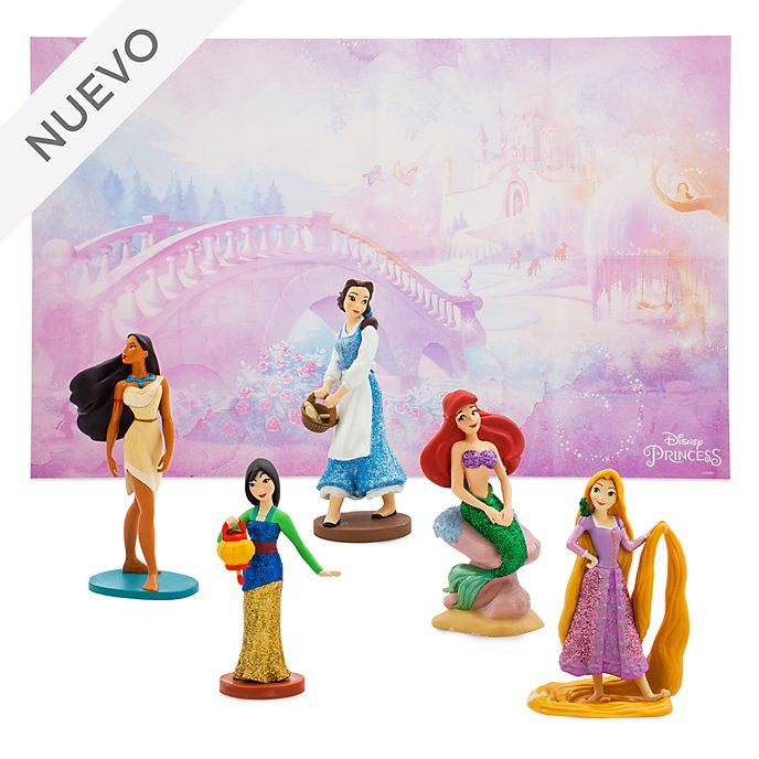 Set de juego de figuritas princesas Disney, Disney Store