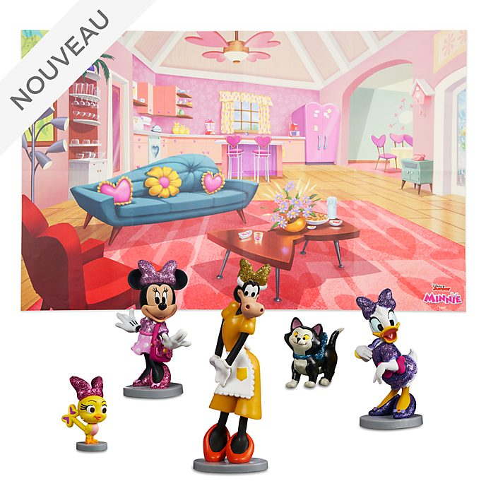 Disney Store Coffret de figurines Minnie et les Joyeux assistants