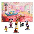 Disney Store Minnie's Happy Helpers Figurine Playset