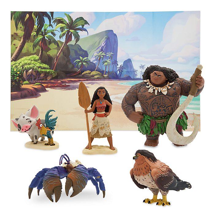 Disney Store Moana Figurine Playset