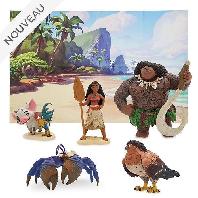 Disney Store Coffret de figurines Vaiana