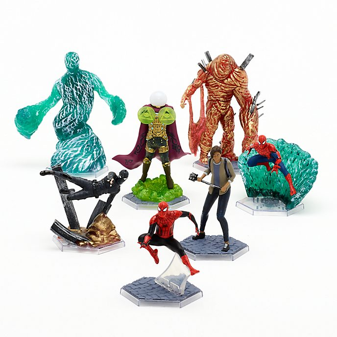 Disney Store Spider-Man: Far From Home Deluxe Figurine Playset