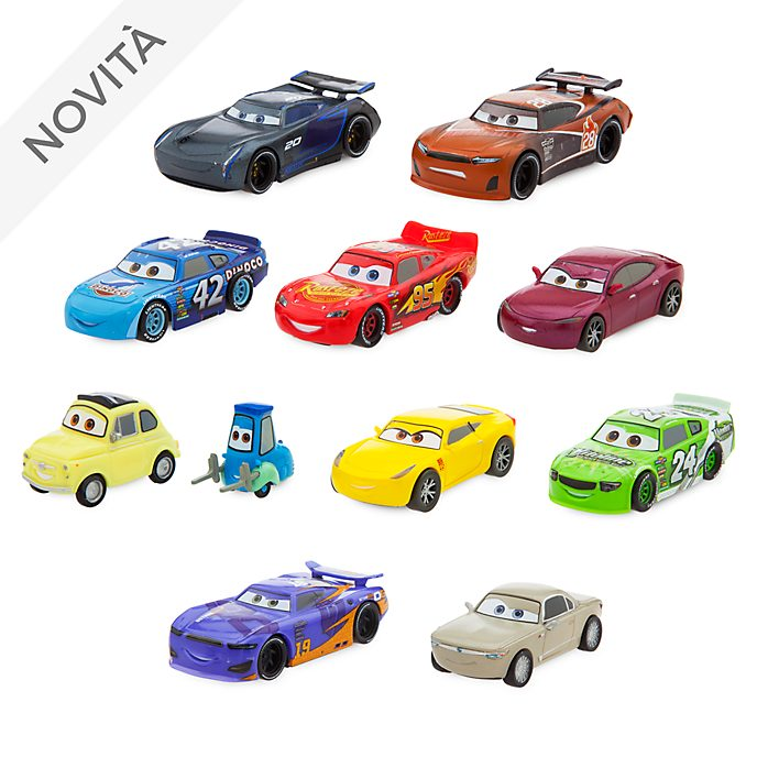 Set da gioco personaggi deluxe Disney Pixar Cars Disney Store
