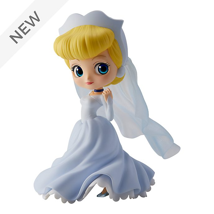 Banpresto Q Posket Cinderella Wedding Figurine