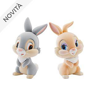 Personaggi Fluffy Puffy Tippete e Coniglietta Banpresto