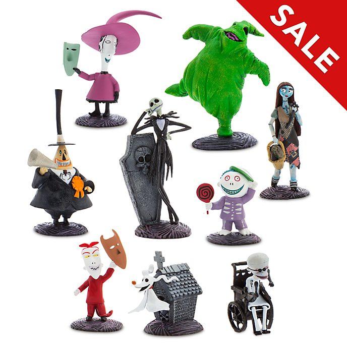 Disney Store Nightmare Before Christmas Figuren Spielset Deluxe