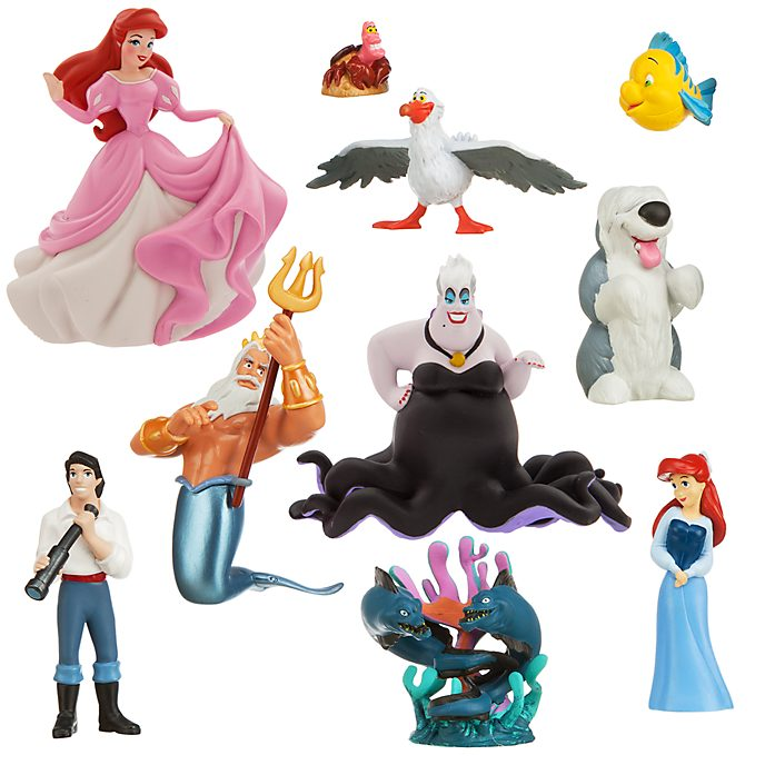 Set de juego de figuritas exclusivo La Sirenita, Disney Store