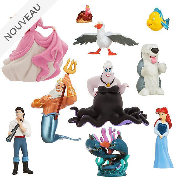 Disney Store Coffret de luxe de figurines La Petite Sirène