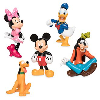 Disney Store Mickey and Friends Figurine Playset