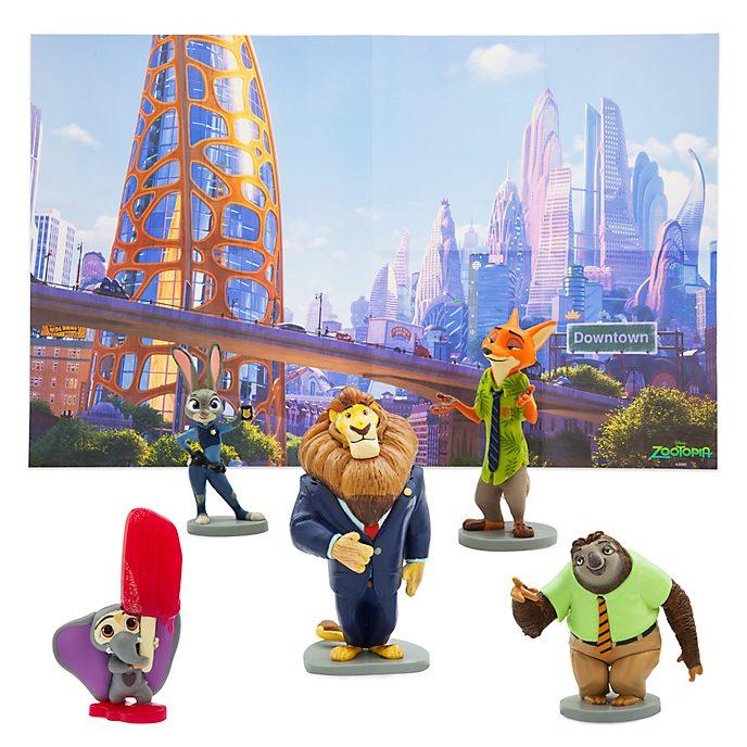 Set da gioco personaggi Zootropolis Disney Store