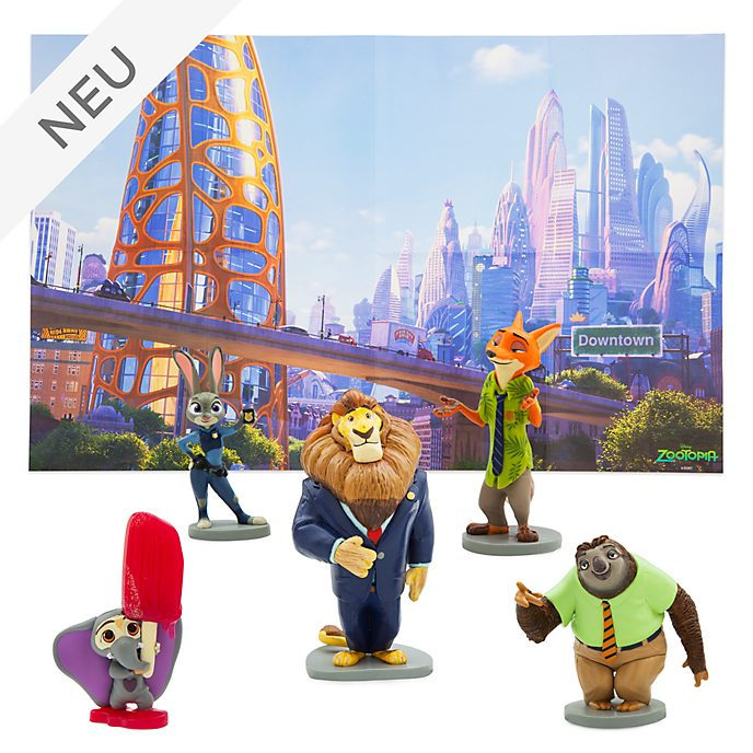 Disney Store - Zoomania - Figuren-Spielset