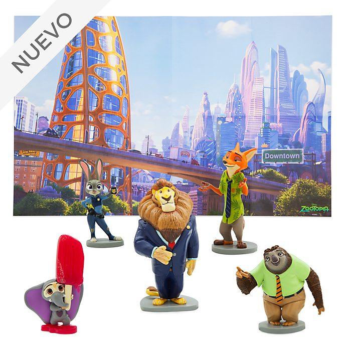 Set de juego de figuritas Zootrópolis, Disney Store