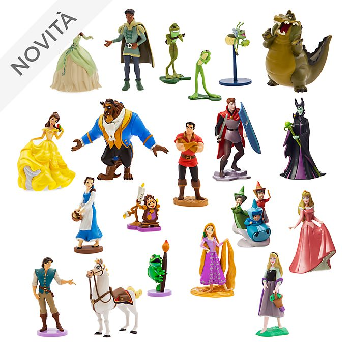 Mega set da gioco personaggi Principesse Disney, Disney Store