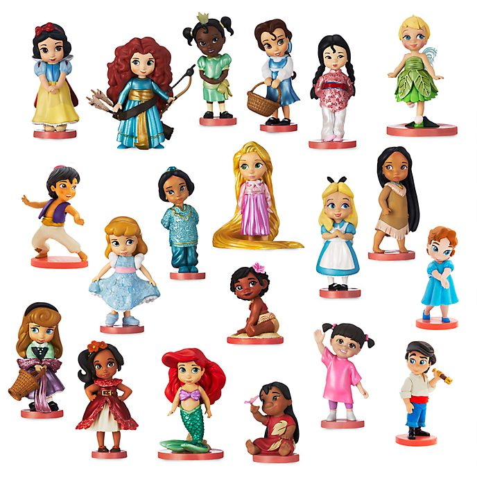 Disney Store - Disney Animators Collection - Großes Spielfigurenset