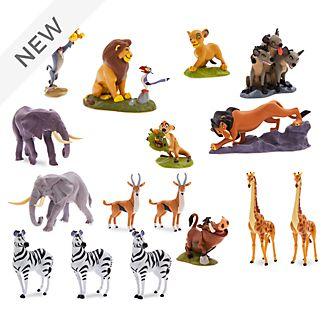 Disney Store The Lion King Mega Figurine Playset