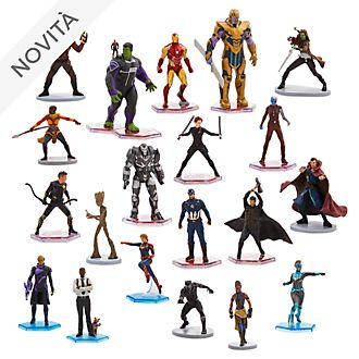 Mega set da gioco personaggi Marvel Disney Store