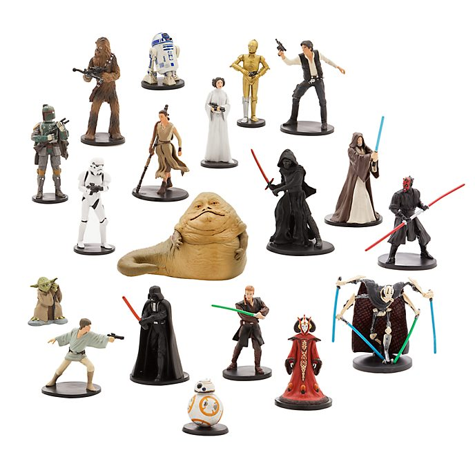 Disney Store Star Wars Mega Figurine Playset