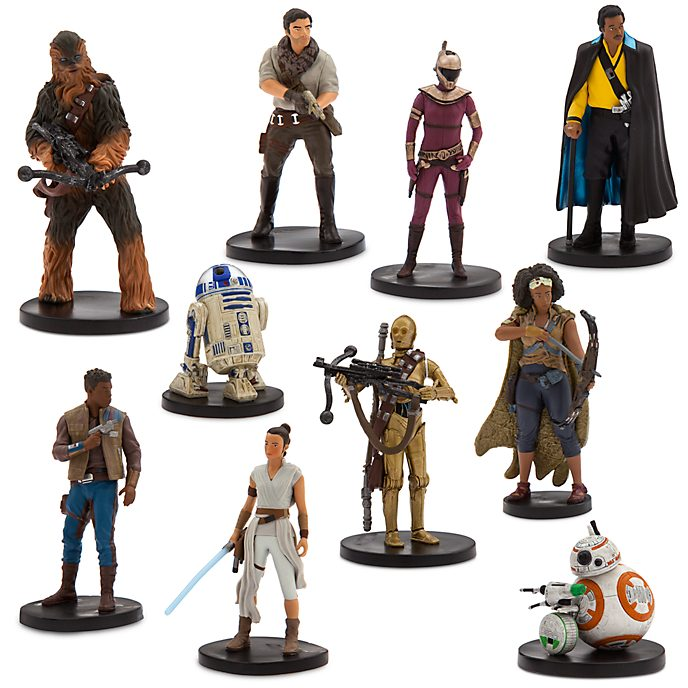 Disney Store The Resistance Deluxe Figurine Playset, Star Wars