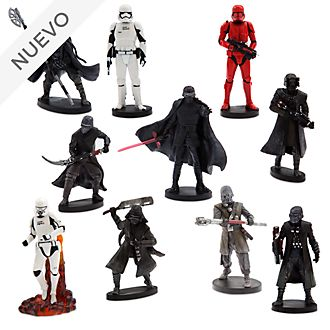 Set juego figuritas exclusivo la Primera Orden, Star Wars, Disney Store