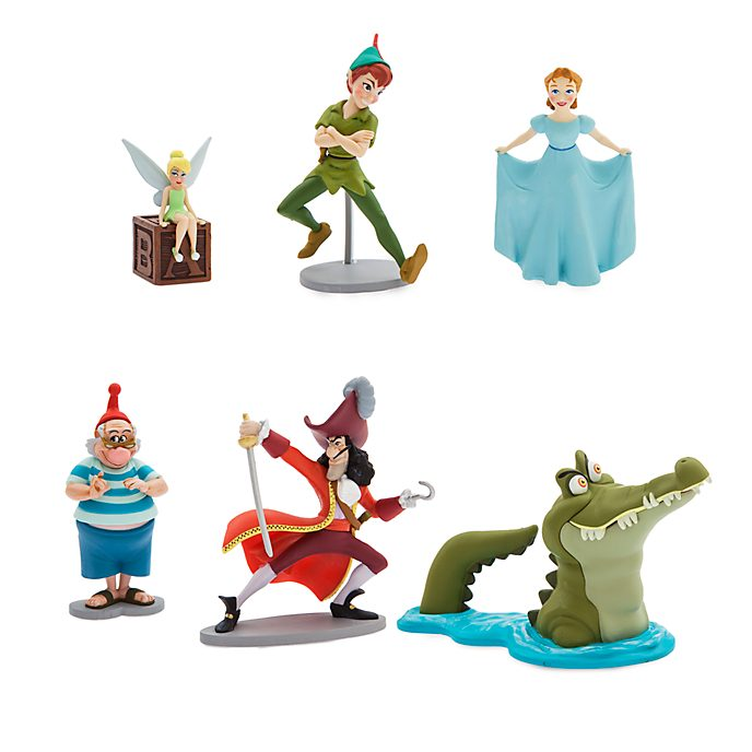 Disney Store Peter Pan Figurine Playset