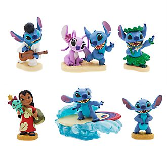 Disney Store Lilo and Stitch Figurine Playset