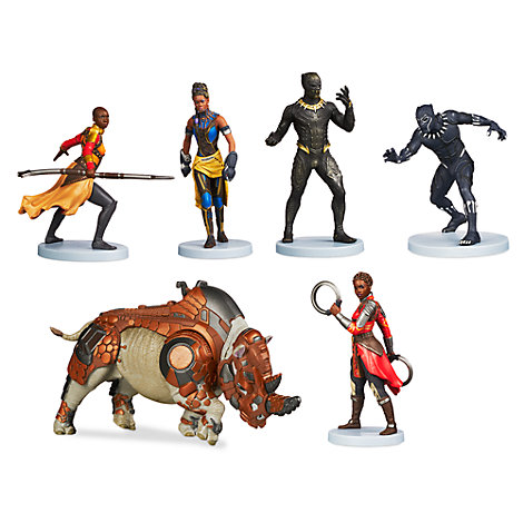 Black Panther Figurine Playset