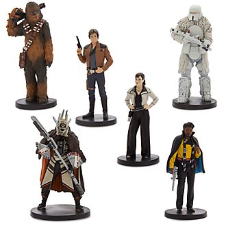 Disney Store Solo: A Star Wars Story Figurine Playset