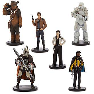 Set de figuritas de Han Solo: Una historia de Star Wars, Disney Store