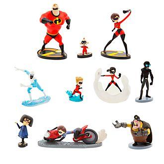 Disney Store Set da gioco personaggi deluxe Gli Incredibili 2