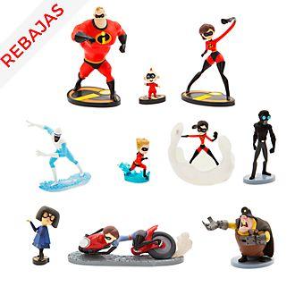 Set figuritas lujo Los Increíbles 2, Disney Store