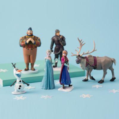 Ensemble de figurines La Reine des Neiges