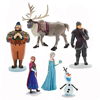 Disney Store Frozen Figurine Playset