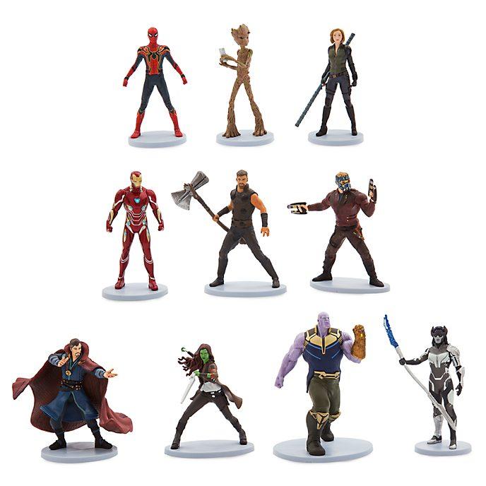 Set figuritas de lujo, Vengadores. Infinity War, Disney Store