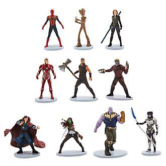 Disney Store Ensemble de figurines Deluxe, Avengers: Infinity War