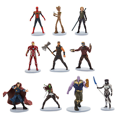 Set figuritas de lujo, Vengadores. Infinity War