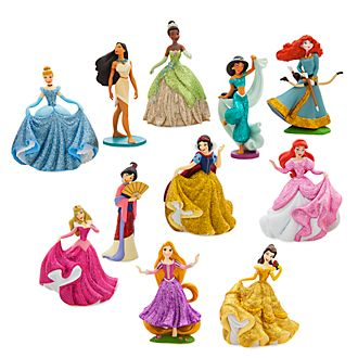 Coffret deluxe de figurines Disney Princesses