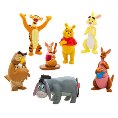 Coffret de figurines Winnie l'Ourson, Disney Store